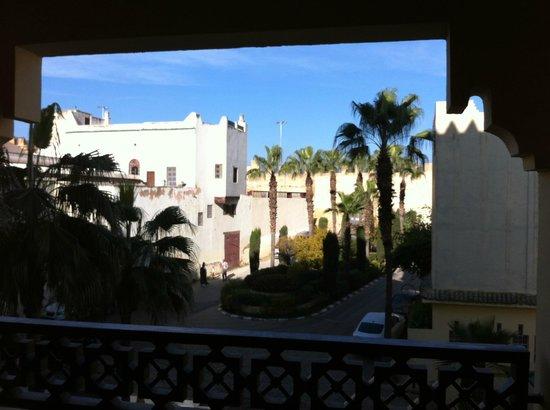 Sofitel Fes Palais Jamai: un balcon pas très intime