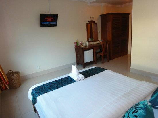 Gloria Angkor Hotel: Zimmer mit Doppelbett