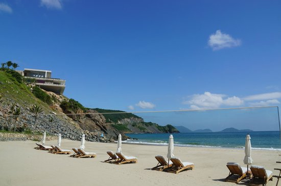 Mia Resort Nha Trang: View from beach