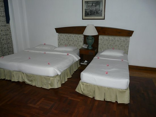 Hotel Suisse: chambre