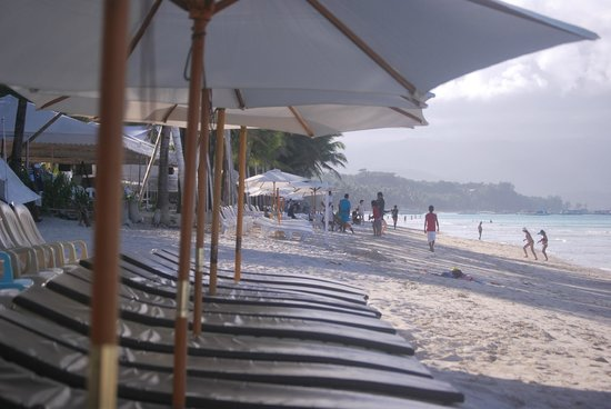 Boracay Peninsula Resort : lounge for hotel guests