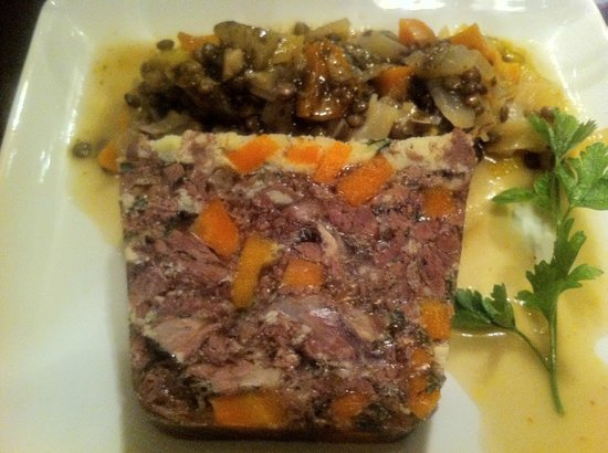 Le Volant: Terrine de queue de boeuf