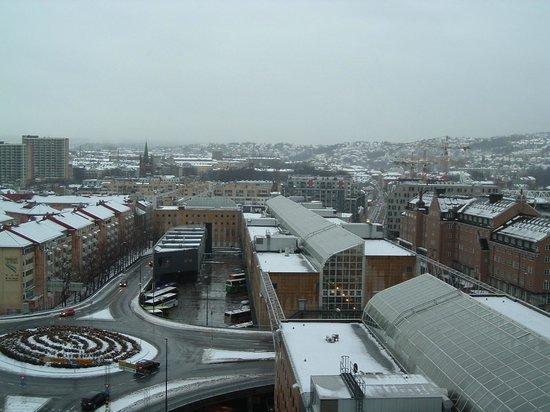 Radisson Blu Plaza Hotel, Oslo: Utsikt från rummet.
