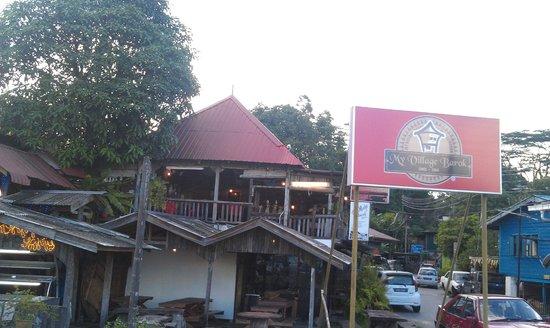 My Village Barok: The restaurant