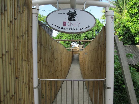 Beluga Boutique Hotel: The gate