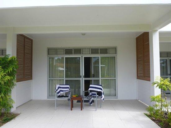 The Terraces Apartments Denarau: Verandah