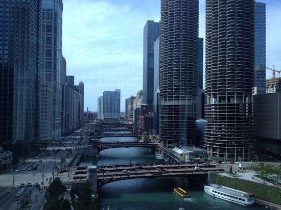 Wyndham Grand Chicago Riverfront: view from my room