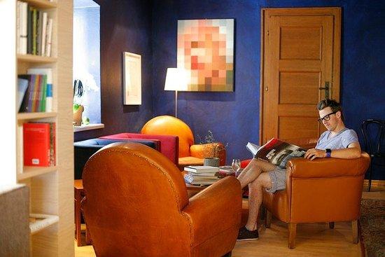 Hotel der Seehof: Blauer Salon