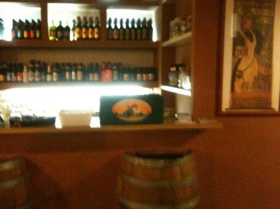 La Gallina Che Fuma: beer shop all'interno del locale
