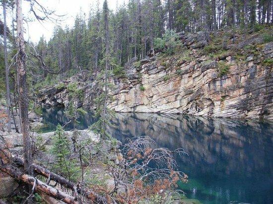 Horseshoe Lake: Blick von Ufer zu Ufer