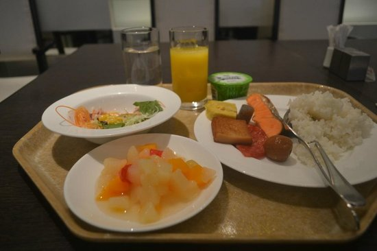 Excel City Hotel: my breakfast