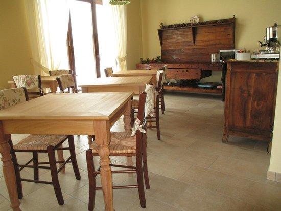 Otto Ducati d'Oro: sala colazioni