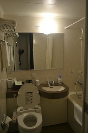 Excel City Hotel: bathroom