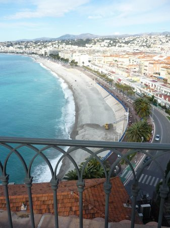 Hotel La Perouse: vue depuis la chambre