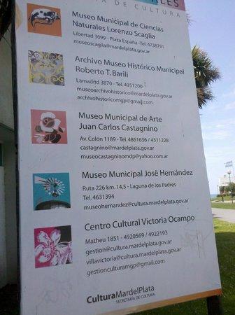Lorenzo Scaglia Municipal Museum of Natural Sciences: Museo cartel