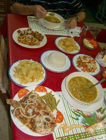 """Casa Particular """"Villa El Coral"""": Essen von Manuela, Villa El Coral"""