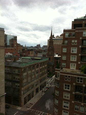 Boston Park Plaza: View from our room