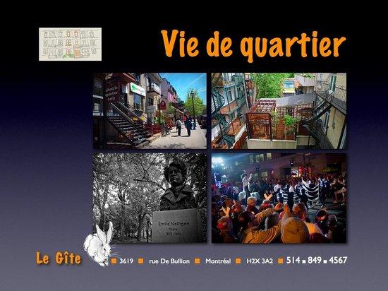 Le Gite: Vie de quartier