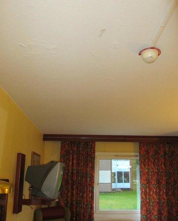 Scandic Lulea North: Ceiling in room