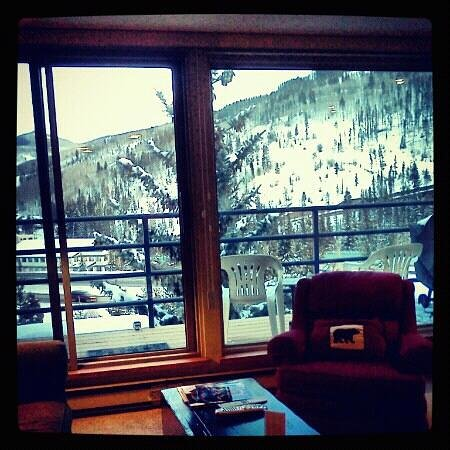 Simba Run Vail Condominiums: Mountain facing unit