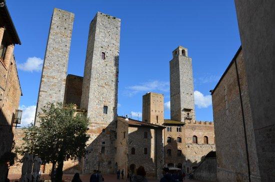 Hotel Ristorante da Graziano: San Gimignano centro
