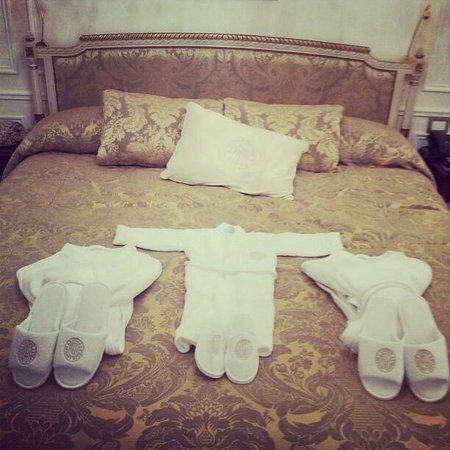 Alvear Palace Hotel: welcome family of 3 