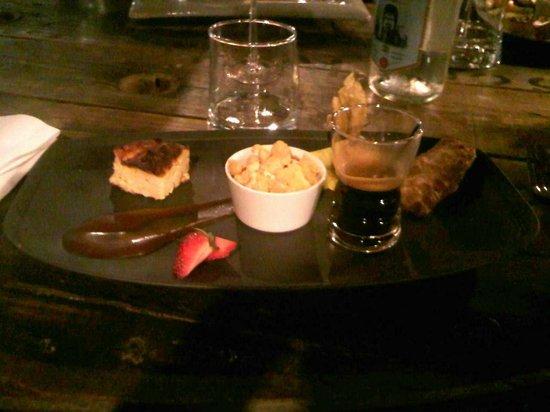 L'Atelier restaurant: Le café très gourmant!