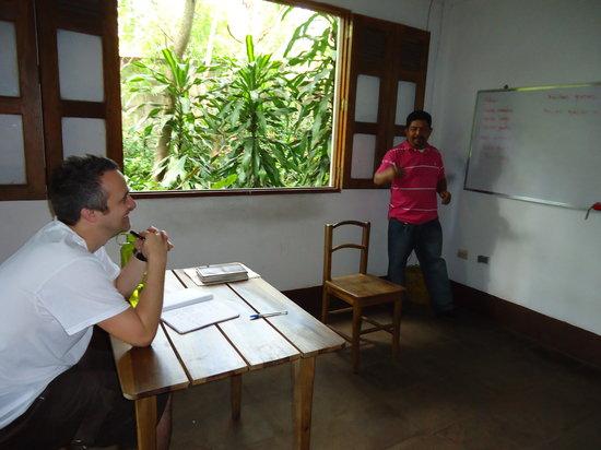 La Mariposa Spanish School and Eco Hotel: The head of the school, Bergman who also trains the teachers