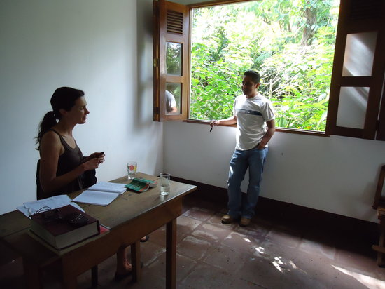 La Mariposa Spanish School and Eco Hotel: One of the more formal classrooms