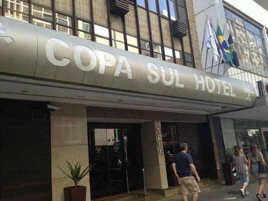Copa Sul Hotel: entrada