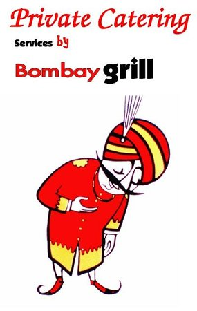 "Bombay Grill: Share happiness with our 'Party-Tray's"", we do catering."
