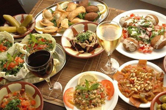 Mezzeh picture of dawali milan tripadvisor for Cuisine italienne