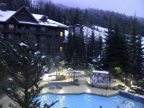 Coast Blackcomb Suites at Whistler: The view from room 448