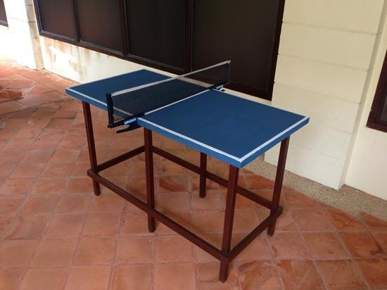 "Sofitel Krabi Phokeethra Golf & Spa Resort: Mini ""ping pong"" table tennis"