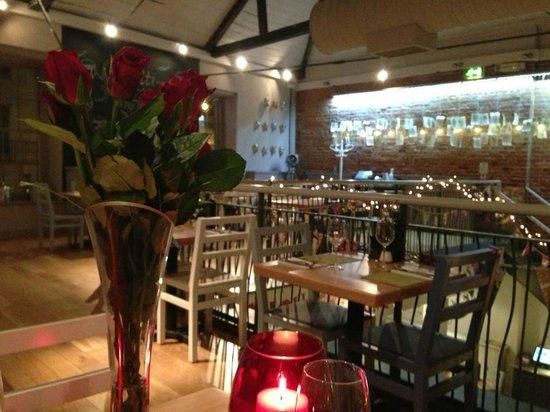 Zizzi - Chichester: Engagement dinner at Zizzi, on the 1st floor, Beautiful!!!
