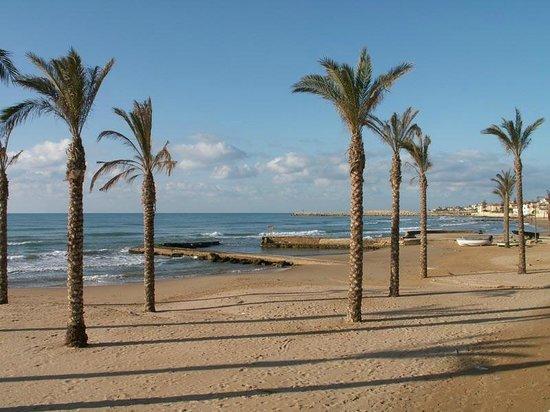 Spiagge Iblee: La spiaggia (Marina di Ragusa)