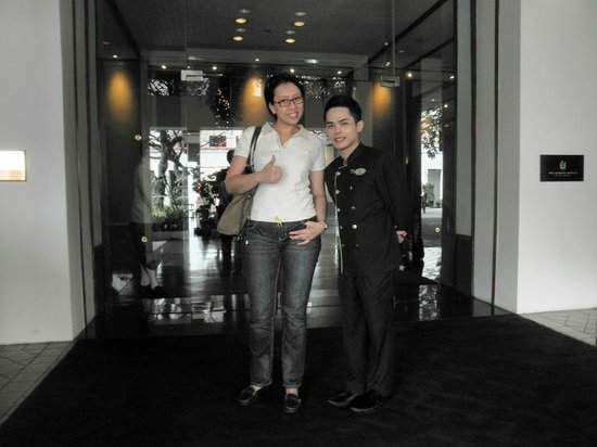 The Sukhothai Bangkok: Bas, the friendly and helpful roomboy