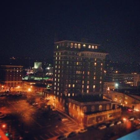 Hotel Indigo Asheville Downtown: view from terrace