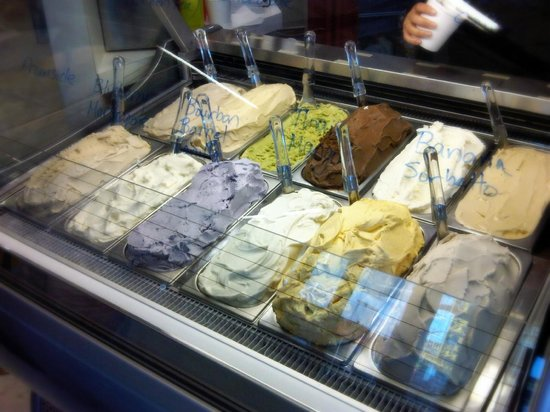 Dojo Gelato : A dozen gelati available, made fresh daily.