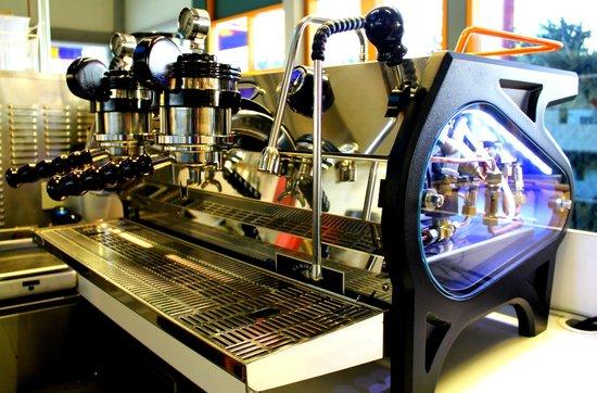 Dojo Gelato: La Marzoccco Strada Espresso Machine