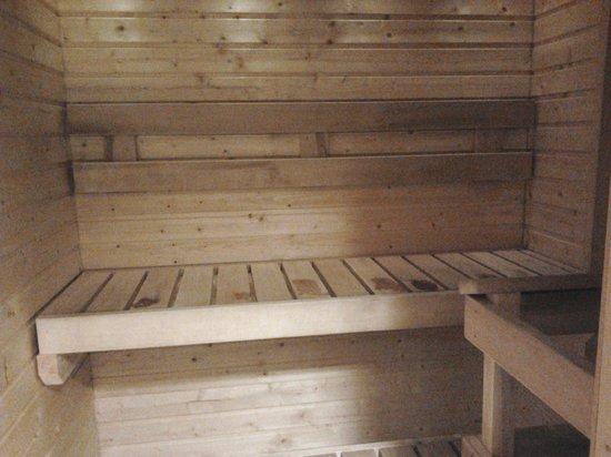BEST WESTERN Hotel Savonia: Sauna in the room