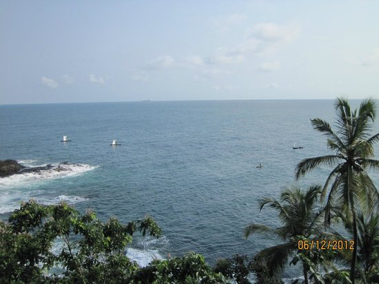 Sao Tome Island, Sao Tome and Principe: Strandaussicht
