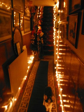 Ye Sleeping House: Festive decorations (internal)
