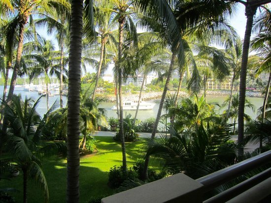 Paradise Village Beach Resort & Spa: View of the Marina from our third floor 2 bedroom.