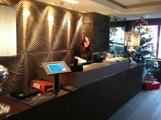 Hotel Le Savoy: L'accueil