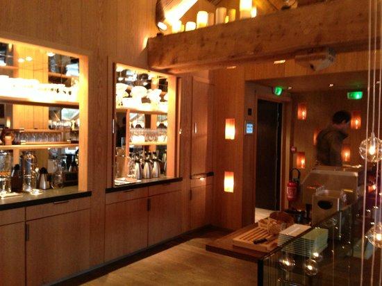 Hotel Le Savoy : L'entrée de la salle à manger