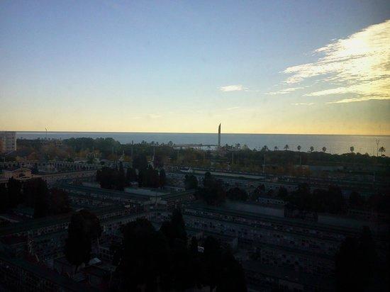 Hotel 4 Barcelona: Dalla finestra