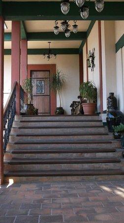 Hotel Casa Manen: stairway to my room