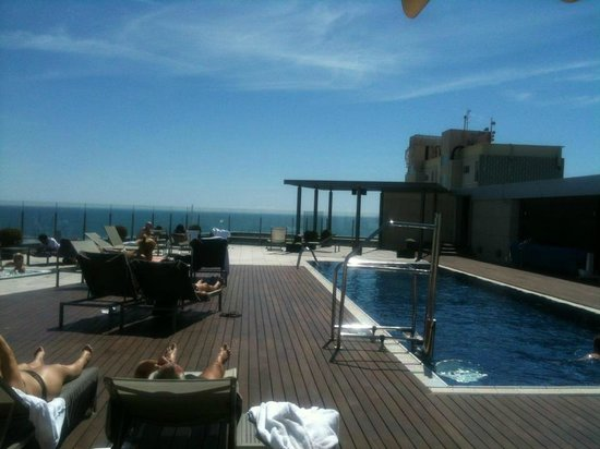 Pullman Barcelona Skipper: Top roof pool