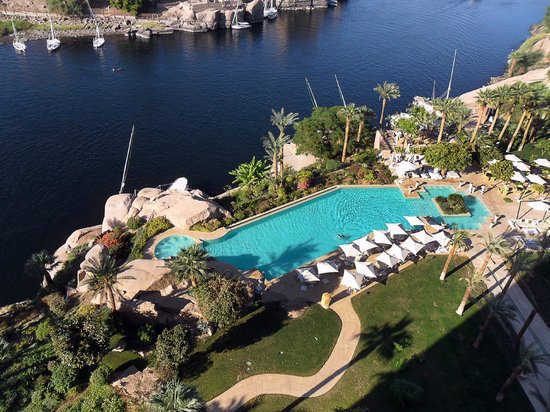 The Outdoor Pool Sofitel Legend Old Cataract Aswan Picture Of